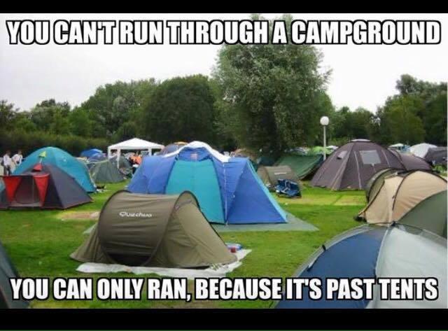 Past Tents