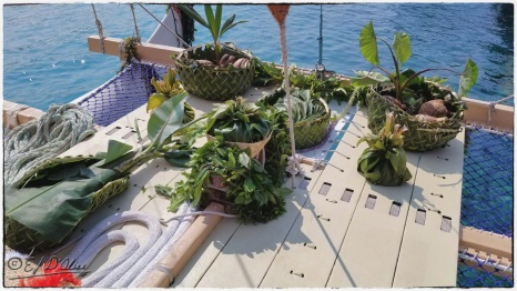An example of the type of supplies the original sailors might have had with them.