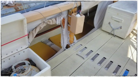 Crew members sleeping quarters.