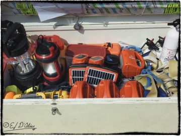 Lots of solar-powered stuff.