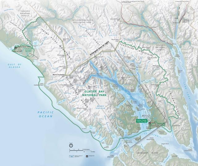 Glacier-Bay-National-Park-Map