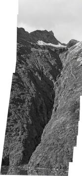 Darker panorama - B&W 1