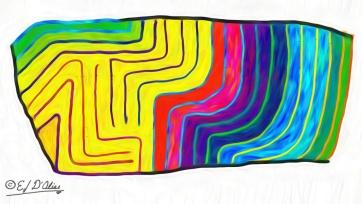 Seismic Color Disturbance