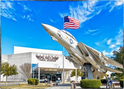 Naval Aviation Museum — F-14A Tomcat