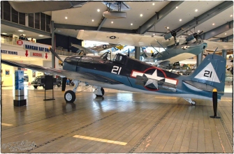 National Naval Aviation Museum — F6F-3 Hellcat