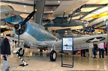 National Naval Aviation Museum — SBD Dauntless BuNo 2016