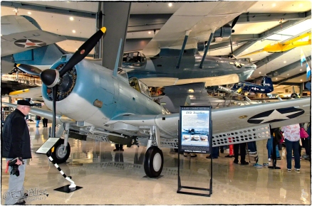 National Naval Aviation Museum — SBD Dauntless BuNo 2016
