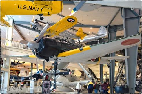 National Naval Aviation Museum — A6M2 Zero