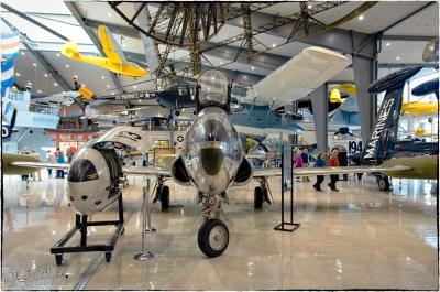 National Naval Aviation Museum — Lockheed TV-2 (T-33B) Shooting Star
