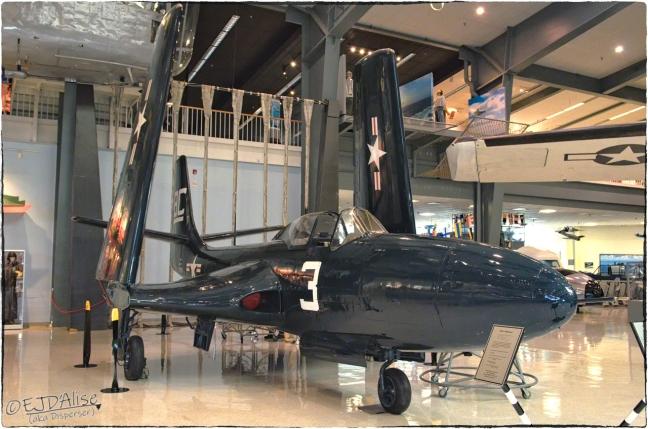 National Naval Aviation Museum — McDonnell FH-1 Phantom