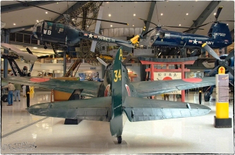 National Naval Aviation Museum — Kawanishi N1K2 Shiden-Kai (George)