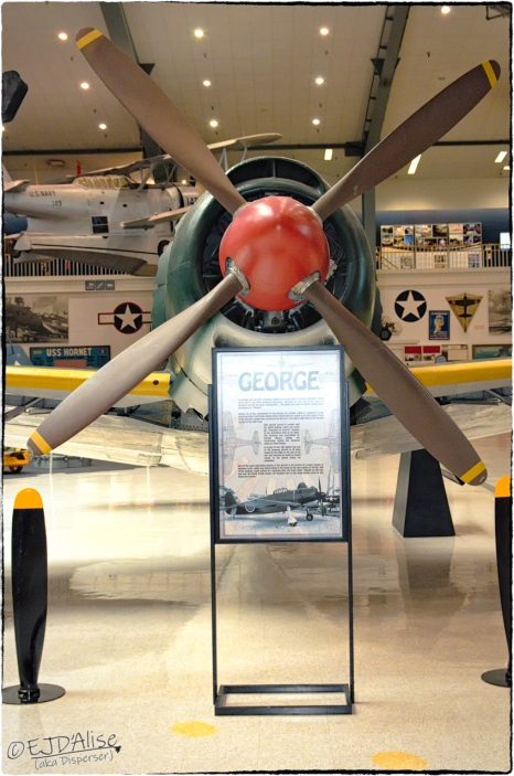 National Naval Aviation Museum — Kawanishi N1K2 Shiden-Kai (George)
