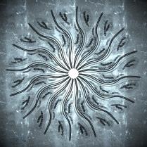 Theorized Light Energy Matter Tentacle Galaxy