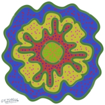 Multi-layer Amoeba with Multi-color Chicken Pox