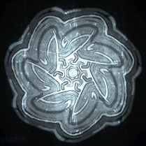 The Wobbly Wheel of Time Frozen in an Aluminum-Carbonite Alloy