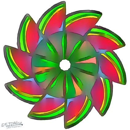 It Was Colorful but the Watermelon Wheel Experiment Ultimately Ended in Failure