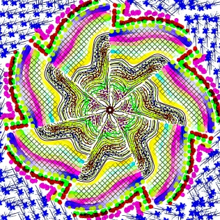 Hurricane As Seen By A Myopic Colorblind Seagull On Drugs