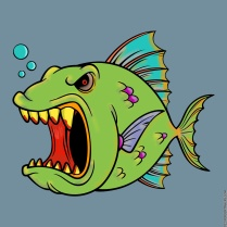 Don't Mess With Angry Fish
