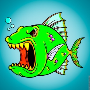 The Don't Mess With an Angry Fish Make-over