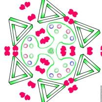 Escher, Rose Petals, and Life Savers Spinner