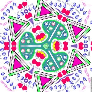 Fancy Escher, Rose Petals, and Life Savers Spinner
