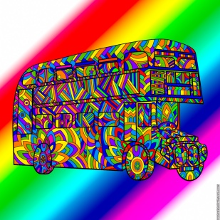 Cosmic Psychedelic Bus