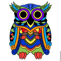 The Psychedelic Owl