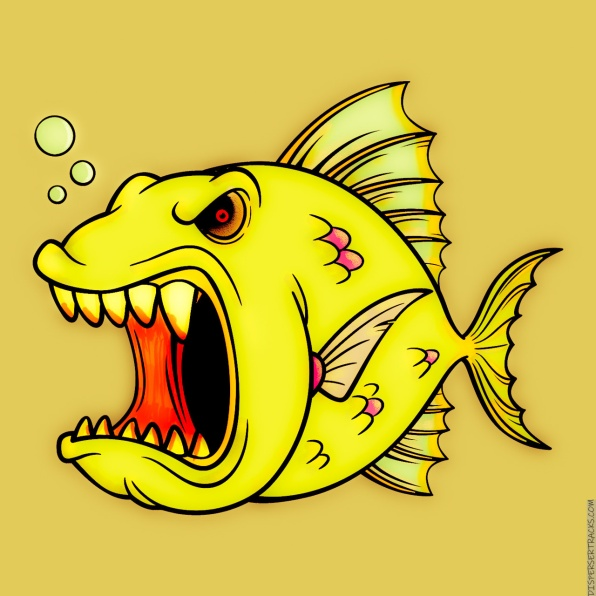 The Don't Mess With an Angry Fish Citrus Edition