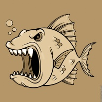 The Don't Mess With an Angry Fish Swimming the 'Big Muddy