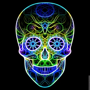 Electric Skull Carnevale Vegas at Night Edition
