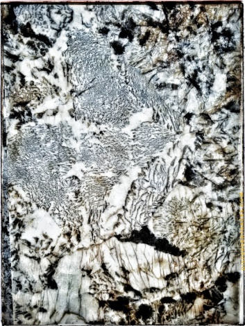 A piece of granite at the Home Depot.