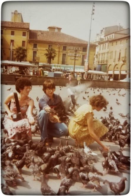Eraldo, AnnMarie, and Louise in Venice
