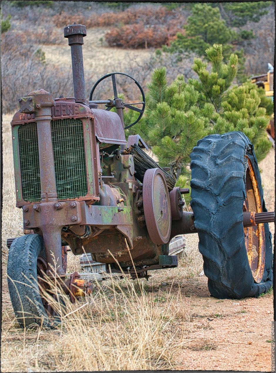 """John Deere Model """"B"""" Tractor"""