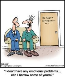 no emotional problems