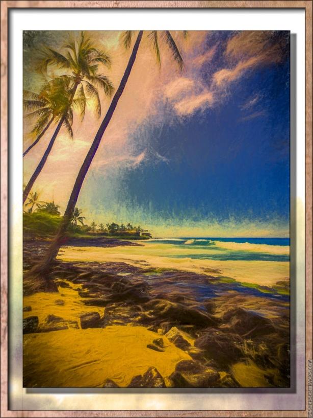 Magic Sands beach in Kona, The Big Island