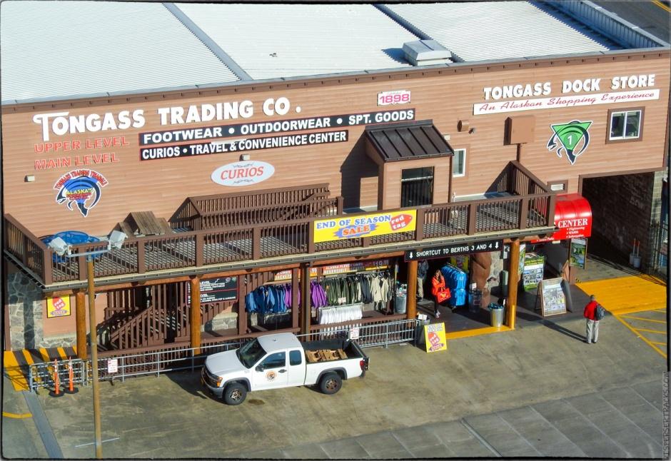 Tongas Trading Company shop in Ketchikan Alaska