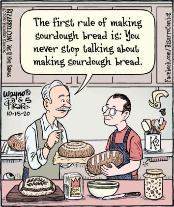 firsst rule of sourdough