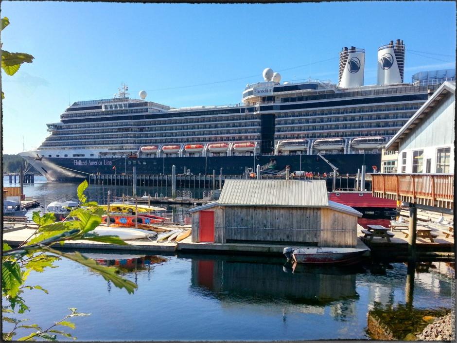 A photo of Holland America Line Eurodam ship