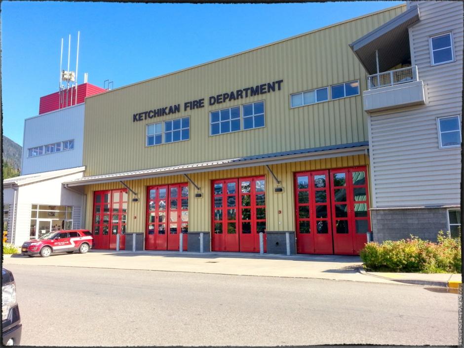 Ketchikan fire department station