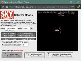 Saturn moons 10DEC2020 5 21 pm