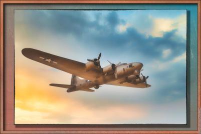 Boeing B-17 Flying Fortress — Topaz Simplify 4 and Topaz Studio 1.0