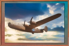 Consolidated B-24 Liberator — another version with fewer details and framed in Studio 1.0